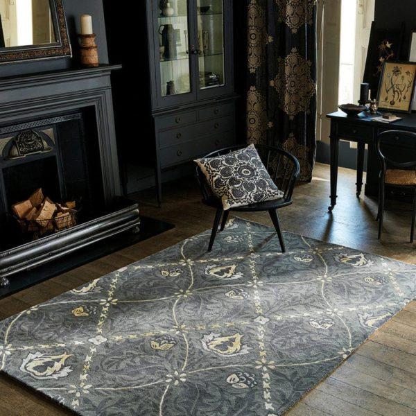 czarny-dywan-we-wzory-Trellis-Black-Ink-29105-aranzacja