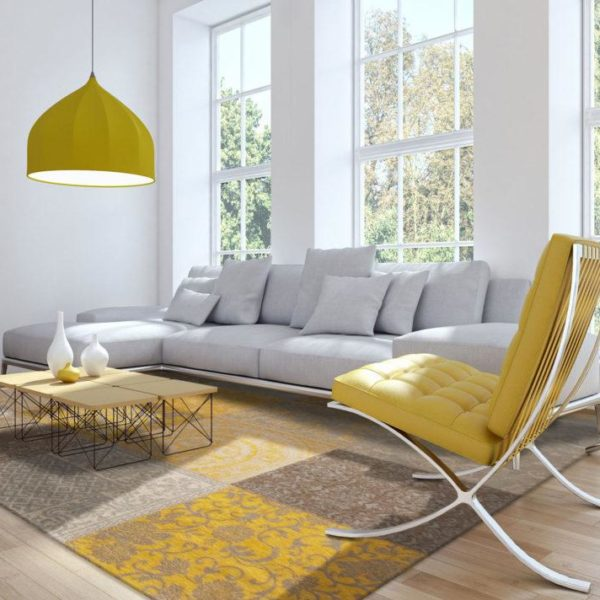 Living room giallo